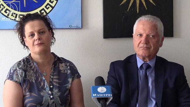 Οι υποψήφιοι βουλευτές Ε. Κατσούδα και Β. Δρόσος μιλούν για τις εκλογές της 7ης Ιουλίου