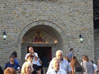 Μέγας πανηγυρικός εσπερινός με πλήθος πιστών στην Ι.Μ. Ρέθα