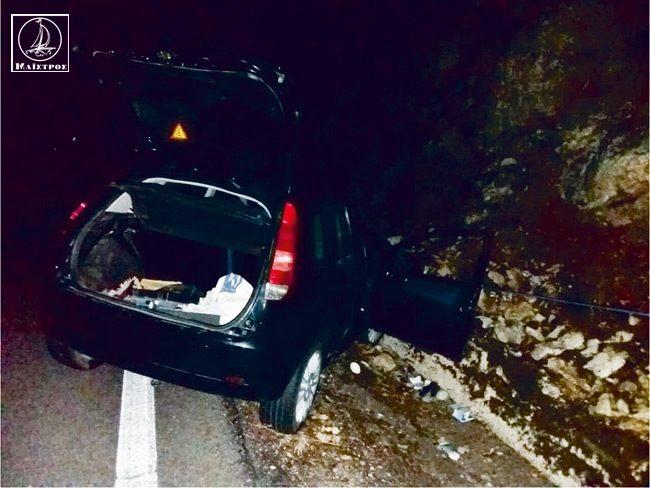 Τροχαίο ατύχημα στο 6ο χλμ Αμφιλοχίας – Λευκάδας
