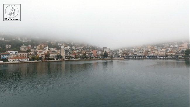 Η ομίχλη «έπνιξε» την Αμφιλοχία – Ένα σπάνιο φαινόμενο για την περιοχή