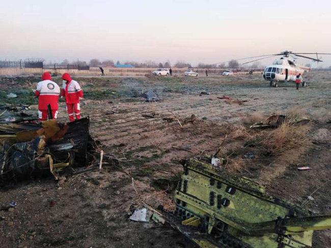 Τεχεράνη: Νεκροί οι 180 επιβαίνοντες του ουκρανικού Boeing 737 που συνετρίβη