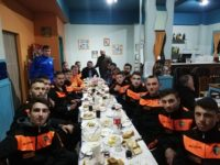 Παρουσία του Δημάρχου ο Ιδομενέας έκοψε την Πρωτοχρονιάτικη πίτα