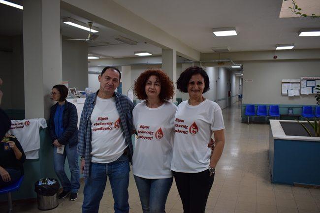Με απόλυτη επιτυχία πραγματοποιήθηκε η εθελοντική αιμοδοσία από το Πολιτιστικό Κέντρο Αμφιλοχίας