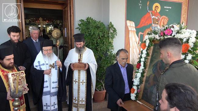 Με Μεγαλοπρέπεια Εορτάστηκε ο πολιούχος Αμπελακίου Άγιος Θεόδωρος