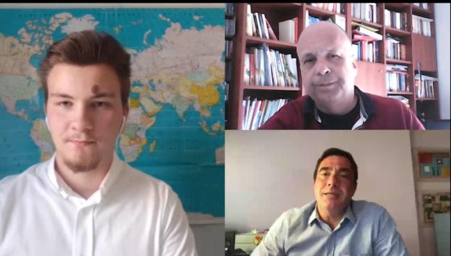Συνέντευξη με τους πολιτευτές Αιτωλοακαρνανίας Βασίλη Φεύγα και Σταύρο Καραγκούνη