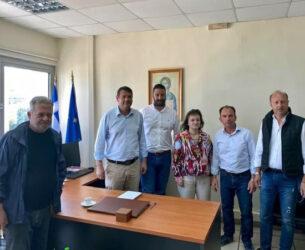 Συνάντηση Θ. Μαυρομμάτη και  Γ. Κατσούλα – Υποσχέσεις για έργα που θα αλλάξουν την όψη της Αμφιλοχίας