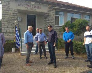 Συνάντηση Θ. Μωραΐτη με τα μέλη του Συλλόγου ελαιοπαραγωγών Αιτωλικού