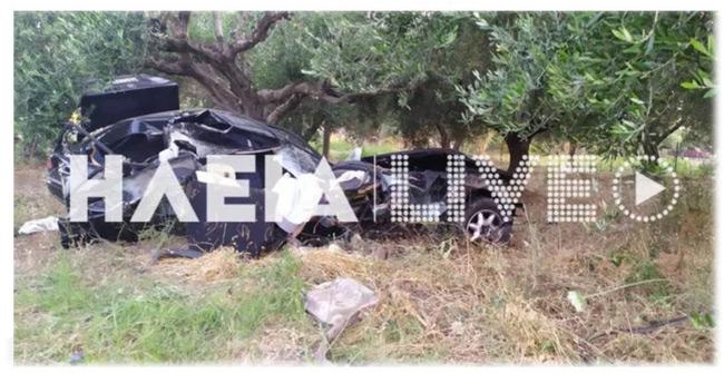Φρικτό τροχαίο στην Ηλεία με ένα 17χρονο νεκρό: Εκτινάχθηκε εκτός αυτοκινήτου ο άτυχος συνεπιβάτης