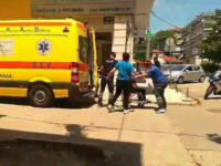 Επίθεση με τσεκούρι σε εφορία στην Κοζάνη: Σε σοβαρή κατάσταση ένας τραυματίας