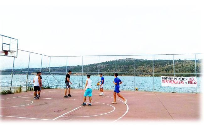 ΚΝΕ – Τουρνουά μπάσκετ στην Αμφιλοχία