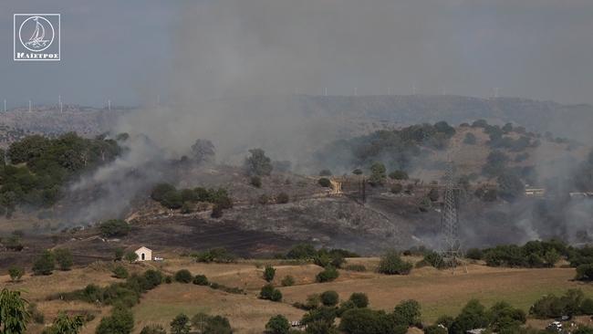 Υπό έλεγχο η πυρκαγιά στο Ξηρόμερο