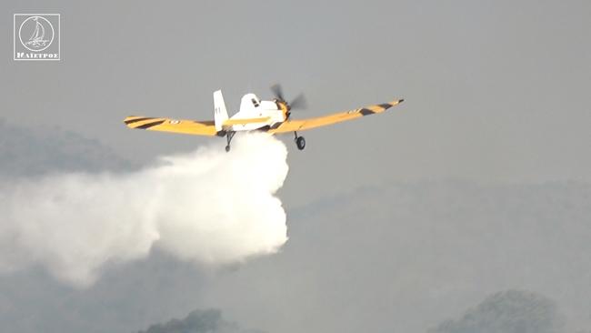 Οι πρώτες εικόνες από την πυρκαγιά στο Ξηρόμερο – Αποκλειστικές εικόνες – Βίντεο