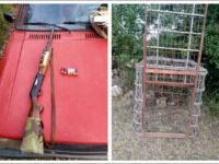 Εντοπίστηκε λαθροθήρας με αυτοσχέδια παγίδα και κυνηγετικό όπλο