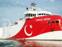 Παγώνουν τις έρευνες του Oruc Reis οι Τούρκοι στην Ανατολική Μεσόγειο για να κάνουν διάλογο