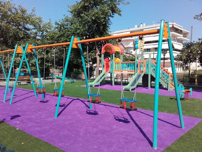 Δήμος Νικολάου Σκουφά: Παιδικές χαρές έτοιμες προς χρήση