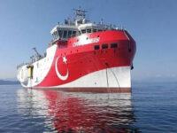 Oruc Reis: H τουρκική Πρεσβεία στις ΗΠΑ ανακοίνωσε ότι το σκάφος ξεκίνησε σεισμικές έρευνες