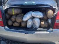 Εγκατάλειψη οχήματος γεμάτο χασίς μετά από τροχαίο – Μία σύλληψη