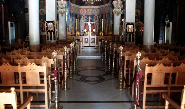 Κορονοϊός: Παράταση των περιοριστικών μέτρων στις εκκλησίες έως 31 Αυγούστου
