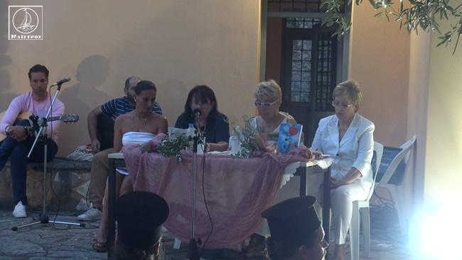 Πλήθος κόσμου στην παρουσίαση βιβλίου ''Δακρυσμένα Χαμόγελα'' της Ευδοκίας Φελώνη στην Αμφιλοχία