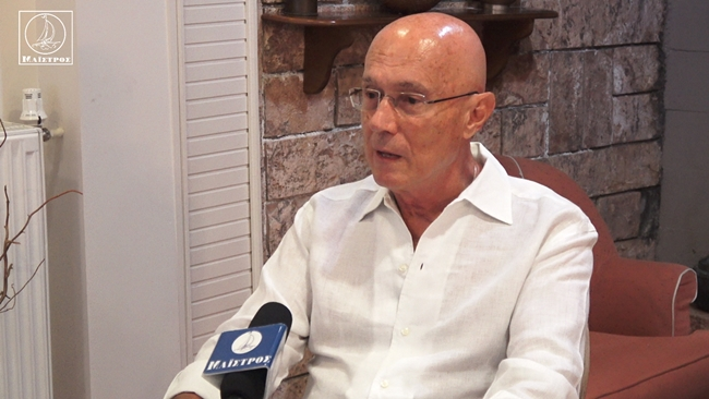 Ο Σύμβουλος του Πρωθυπουργού κ. Γ. Κρεμλής μιλά στο «Μαΐστρο» για την επικαιρότητα, την οικονομία, την ενέργεια, την ανακύκλωση