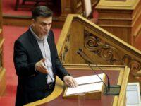 Θ. Μωραΐτης: Η κυβέρνηση εμπαίζει με κάθε ευκαιρία τα εθνικά αισθήματα του λαού, 'ταΐζοντας' το ακροδεξιό της ακροατήριο