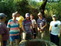 Ανάπλαση στο παλαιό πηγάδι στο Μποτώκο από τα μέλη του Συλλόγου «Το Κάστρο» στο Καινούργιο Αμπελακίου