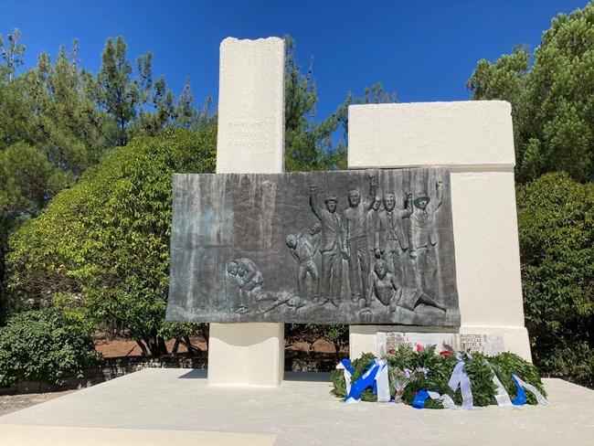 Τιμήθηκαν οι 16 εκτελεσθέντες  στο Σταυράκι