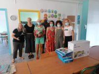 Δωρεά tablet και εκτυπωτή στο Δημοτικό Σχολείο Δρυμού