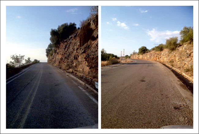 Ευχαριστήριο προέδρου ΤΚ Σαρδινίων για τον καθαρισμό των δρόμων