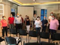 Ενημερωτική συνάντηση στη Ναύπακτο για τα μέτρα κατά του κορωνοϊού με πρωτοβουλία της Αντιπεριφερειάρχη ΠΕ Αιτωλοακαρνανίας Μαρίας Σαλμά