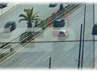 Πήγε να περάσει την Λεωφόρο Συγγρού και τόν πέταξε στον αέρα αυτοκίνητο! Σοκαριστικό βίντεο