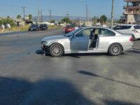Σφοδρή σύγκρουση οχημάτων στον Αγρίνιο