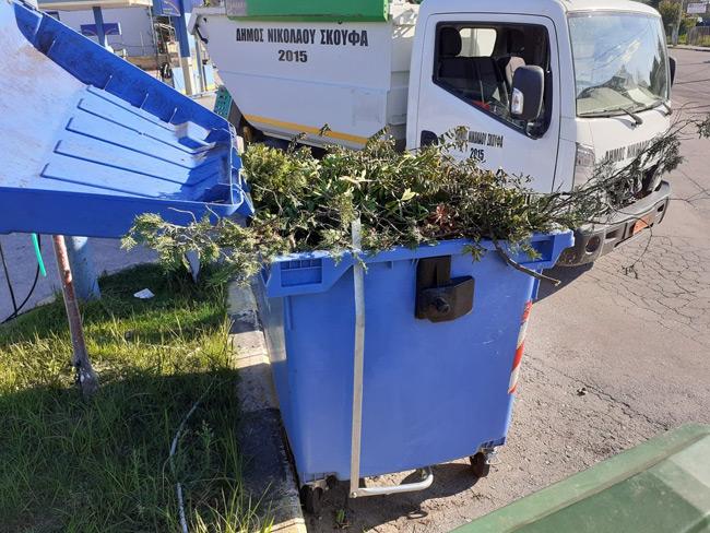 Δήμος Νικολάου Σκουφά: Οδηγίες προς τους δημότες για τη σωστή ανακύκλωση.