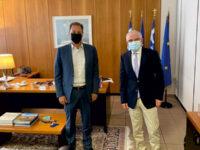 Συνάντηση Λιβανού με τον πρόεδρος του ΕΛΓΑ