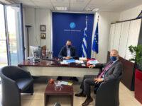 Συνάντηση Μάριου Σαλμά με τον περιφερειάρχη Δυτικής Ελλάδος