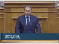 Γιώργος Στύλιος: Η κυβέρνηση αντιμετωπίζει με υπευθυνότητα τις εθνικές κρίσεις.