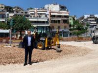 Καθυστερήσεις στην κατασκευή κυκλικού κόμβου στο ύψος της πλατείας Ζέρβα στην Άρτα