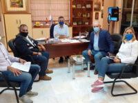 Σύσκεψη στο Δήμο Αρταίων υπό τον καθηγητή και Πρόεδρο ΟΑΣΠ, Ευθύμιο Λέκκα.