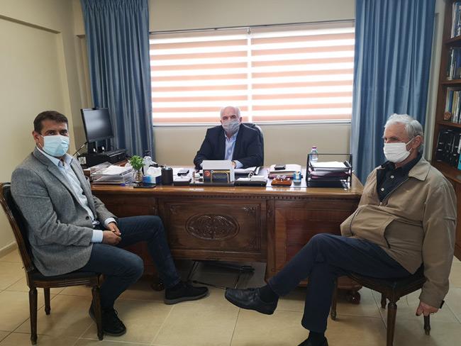 Συνάντηση Δημάρχου Ι.Π. Μεσολογγίου – Δημάρχου Αμφιλοχίας