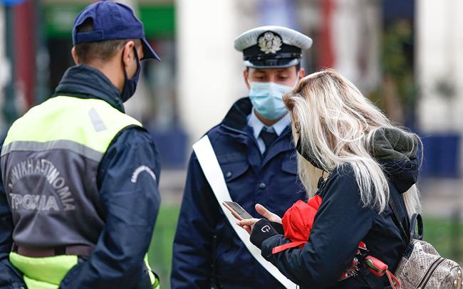 Άρτα: 17 πρόστιμα των 300€ για μη χρήση μάσκας και αδικαιολόγητης μετακίνησης