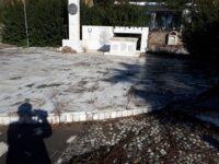 Το Μνημείο Εθνικής Αντίστασης στο Μακρυνόρος καταρρέει