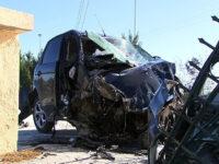 Τραγωδία στη Λάρισα: Νεκρή 19χρονη σε φρικτό τροχαίο – Σοβαρά τραυματίας 20χρονος – Σοκάρουν οι εικόνες