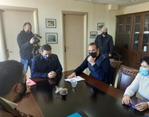 Σύσκεψη για τις πλημμύρες στο Αγρίνιο