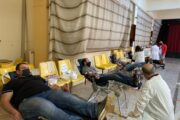 Με επιτυχία πραγματοποιήθηκε σήμερα Κυριακή 24 Ιανουαρίου η Εθελοντική Αιμοδοσία του Π.Κ.Α.