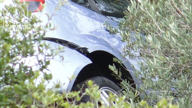 Αυτοκίνητο έπεσε σε γκρεμό βάθους 25 μέτρων στην Αμφιλοχία (ΒΙΝΤΕΟ)