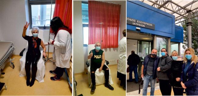 Εμβολιάστηκε η πλειοψηφία νοσηλευτικού και ιατρικού προσωπικού του ΚΥ Αμφιλοχίας