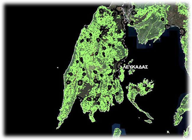 Αναστάτωση στη Λευκάδα με τους δασικούς χάρτες – Το 55% εμφανίζεται δασικό