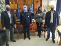 Επίσκεψη Αντιπεριφερειάρχη Αχαΐας και Προέδρου Περιφερειακού Συμβουλίου στη Γενική Περιφερειακή Αστυνομική Διεύθυνση Δυτικής Ελλάδας και στη Διεύθυνση Αστυνομίας Αχαΐας