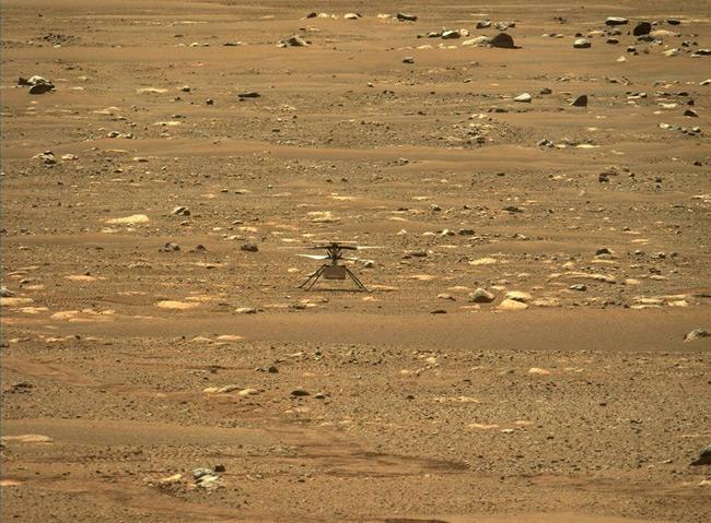 NASA: Ιστορική πτήση του drone «Ingenuity» πάνω από τον Άρη – ΒΙΝΤΕΟ