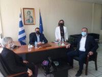 Με τον Βουλευτή Αιτωλοακαρνανίας Νίκο Παπαναστάση συναντήθηκε ο Δήμαρχος Αμφιλοχίας Γιώργος Κατσούλας